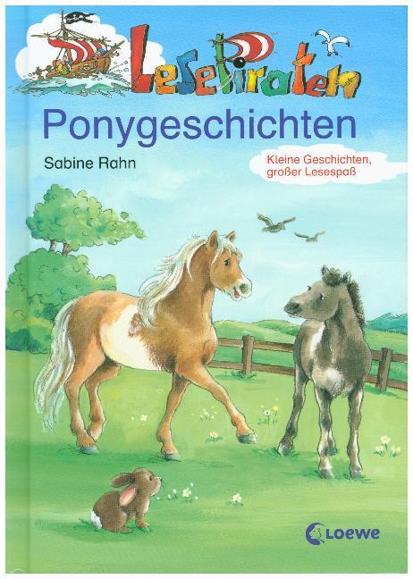 Lesepiraten Ponygeschichten als Buch