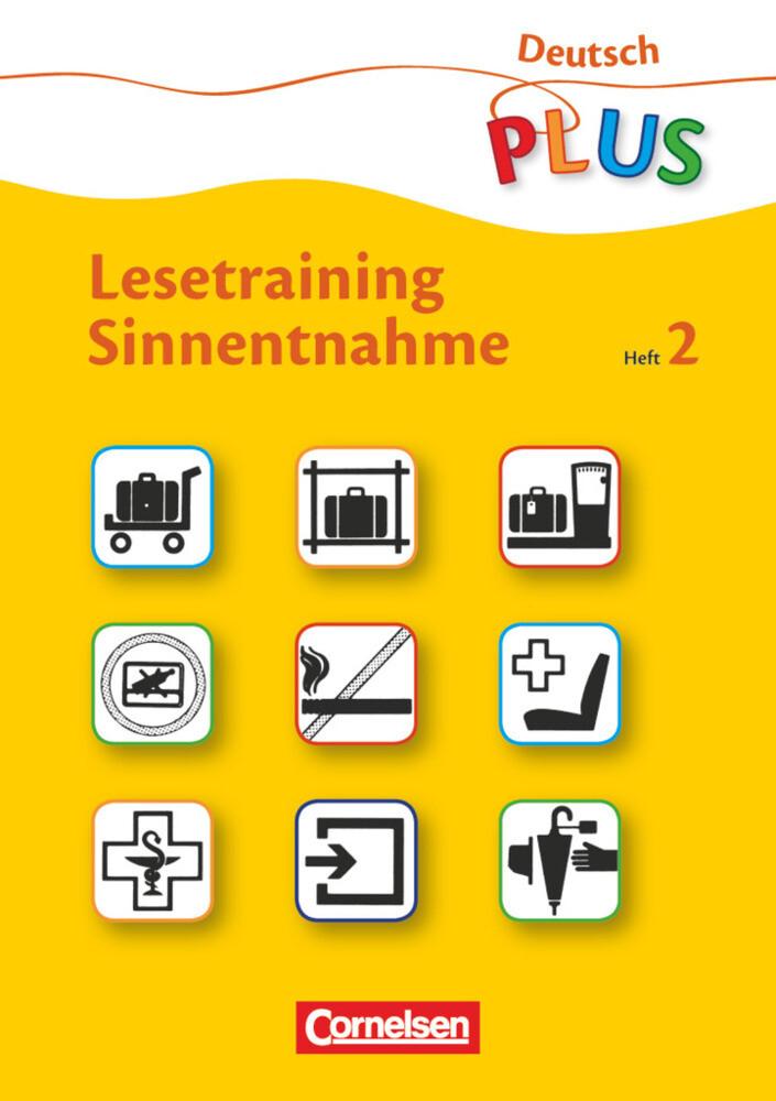 Lesetraining Sinnentnahme Heft 2 als Buch