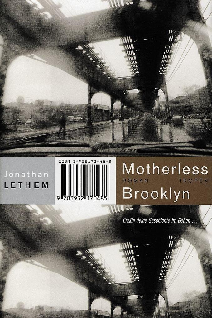 Motherless Brooklyn als Buch