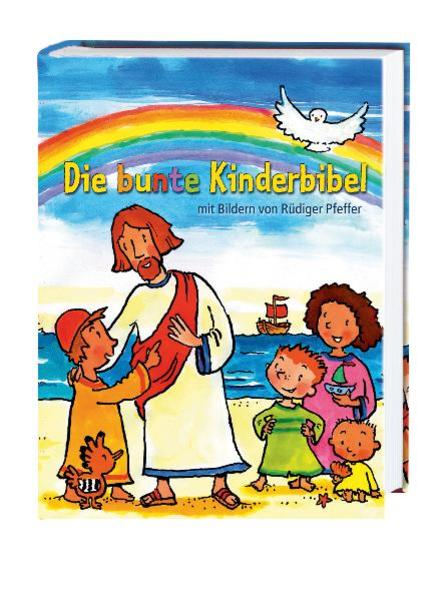 Die bunte Kinderbibel als Buch