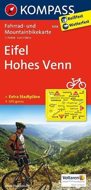 Eifel - Hohes Venn 1 : 70 000 als Buch von