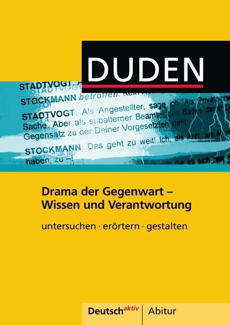 Deutsch aktiv Abitur. Drama der Gegenwart - Wis...