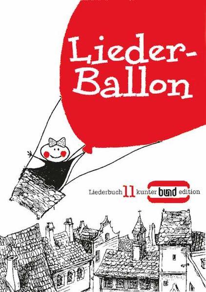 Liederballon als Blätter und Karten