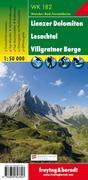 Lienzer Dolomiten, Lesachtal, Villgratental 1 : 50 000. WK 182