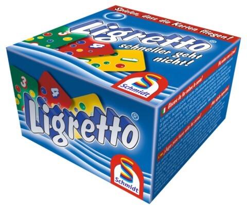 Ligretto blau als Spielwaren