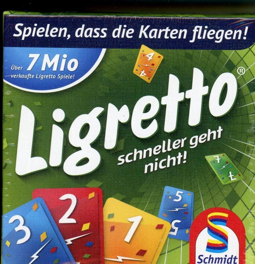 Ligretto grün als Spielwaren
