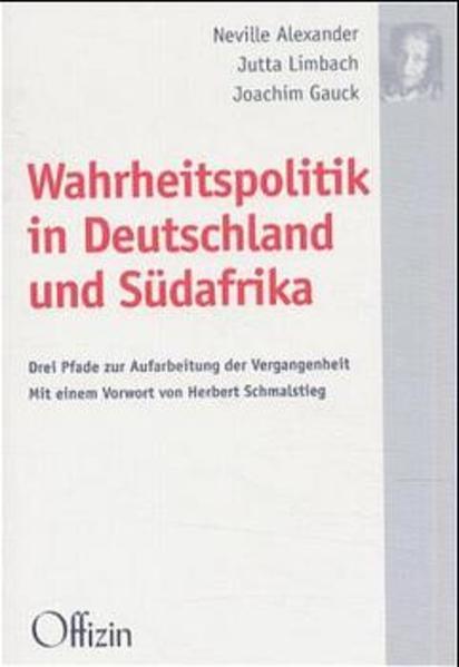 Wahrheitspolitik in Deutschland und Südafrika als Buch