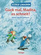 Guck mal Madita, es schneit