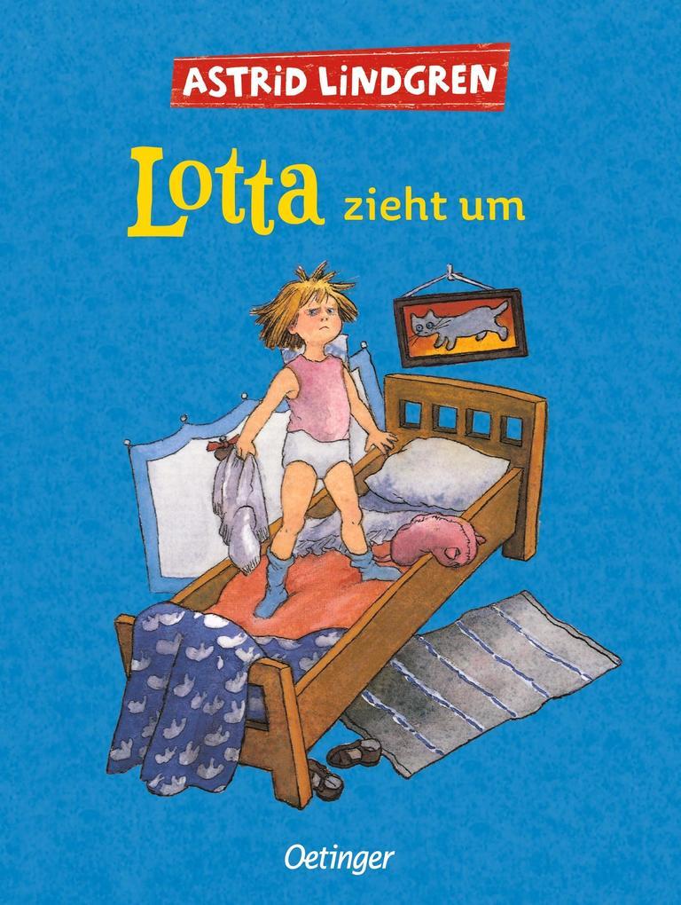 Lotta zieht um als Buch