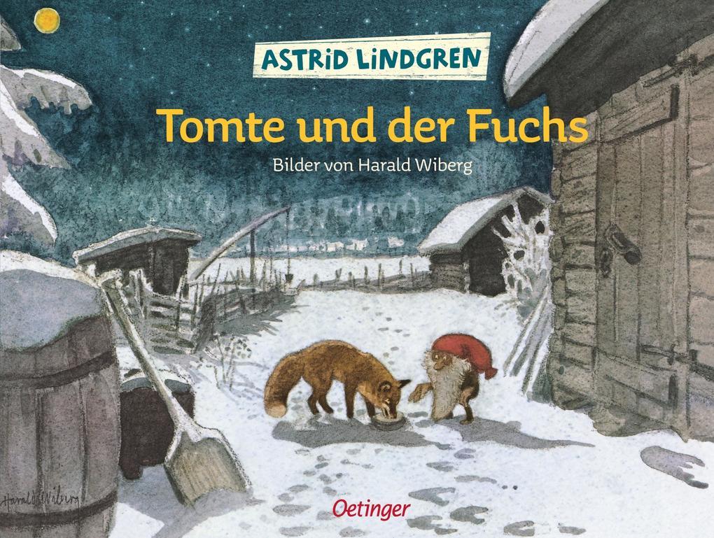 Tomte und der Fuchs als Buch