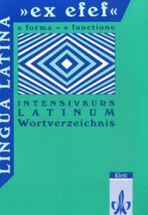 Wortverzeichnis als Buch (geheftet)
