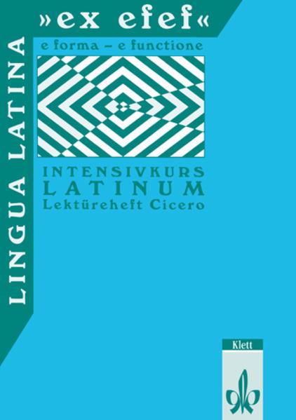 Lingua Latina 'ex efef'. Lektüreheft Cicero als Buch (kartoniert)