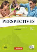 Perspectives. Kurs- und Arbeitsbuch mit Vokabeltaschenbuch