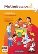 Mathefreunde 4. Schuljahr. Arbeitsheft mit CD-ROM und Lernstandsseiten. Ausgabe Nord