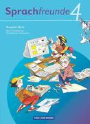 Sprachfreunde 4. Schuljahr. Sprachbuch Ausgabe Nord
