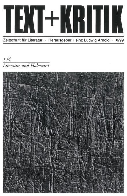 Literatur und Holocaust als Buch