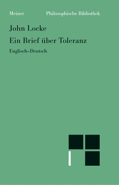 Ein Brief über Toleranz als Buch