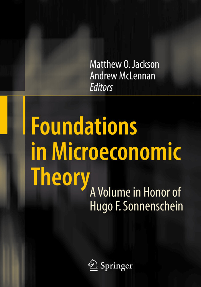 Foundations in Microeconomic Theory als Buch (kartoniert)