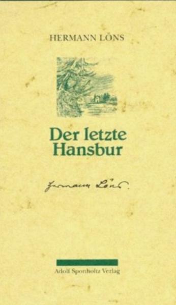 Der letzte Hansbur als Buch