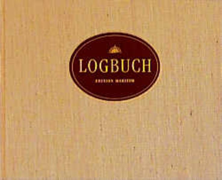 Logbuch (Segeltuch-Ausgabe) als Buch