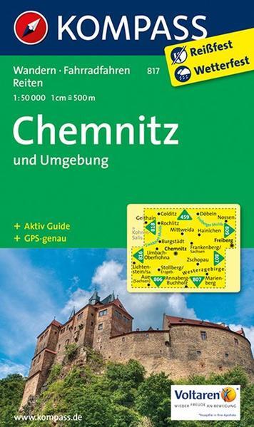 Chemnitz und Umgebung 1 : 50 000 als Buch von