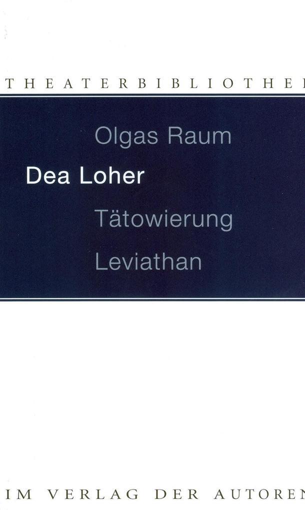 Olgas Raum / Tätowierung / Leviathan als Buch