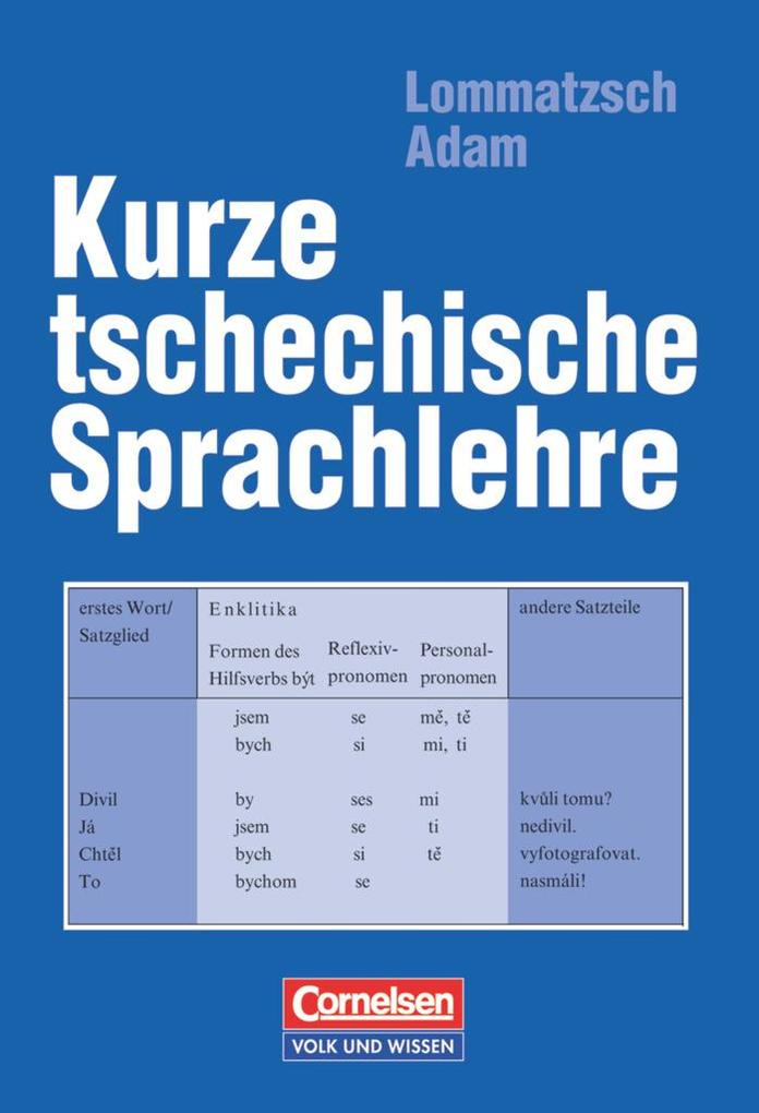 Kurze tschechische Sprachlehre als Buch