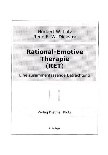 Rational-Emotive Therapie. RET als Buch