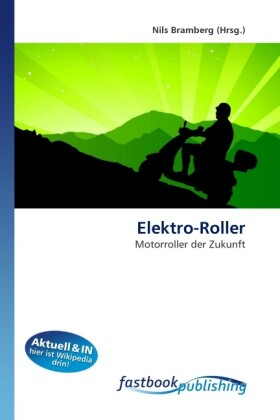 Elektro-Roller als Buch von