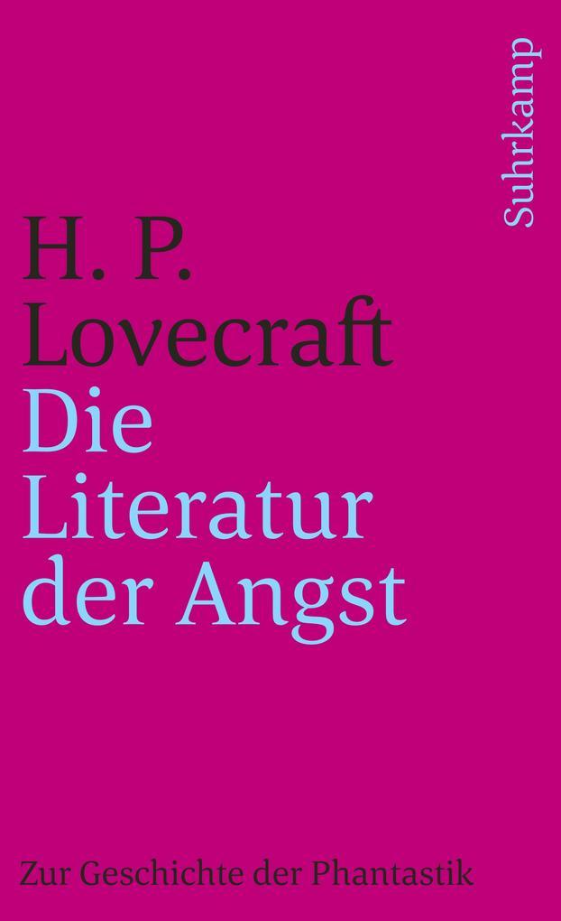 Die Literatur der Angst als Taschenbuch