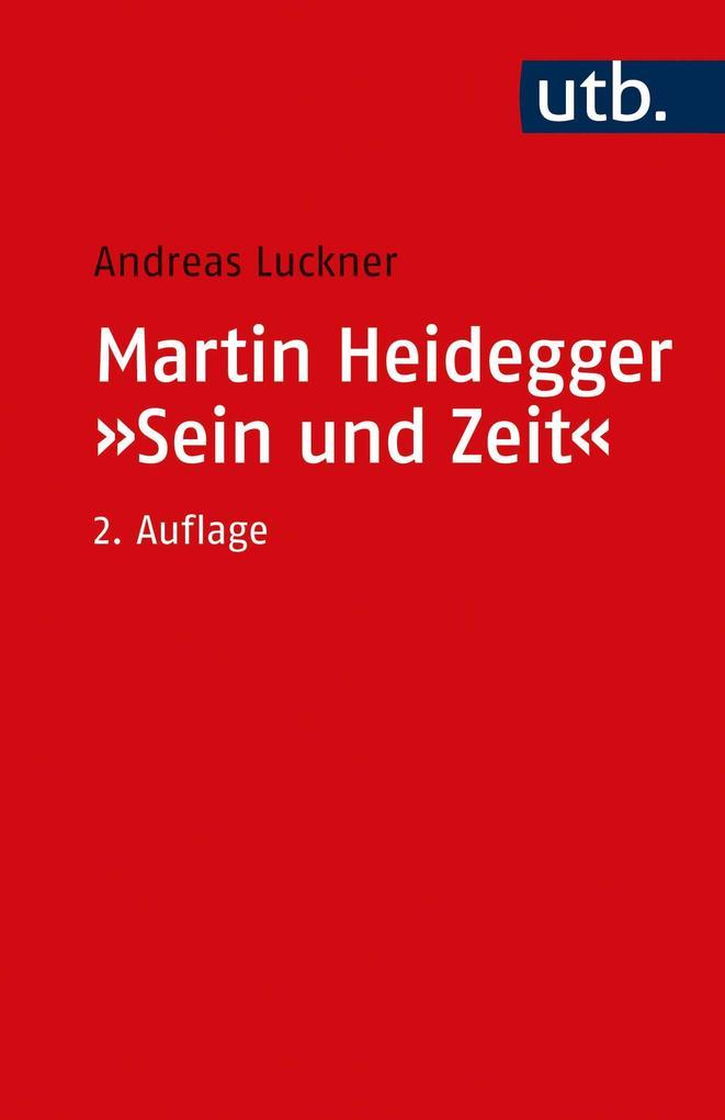 Martin Heidegger: Sein und Zeit als Taschenbuch