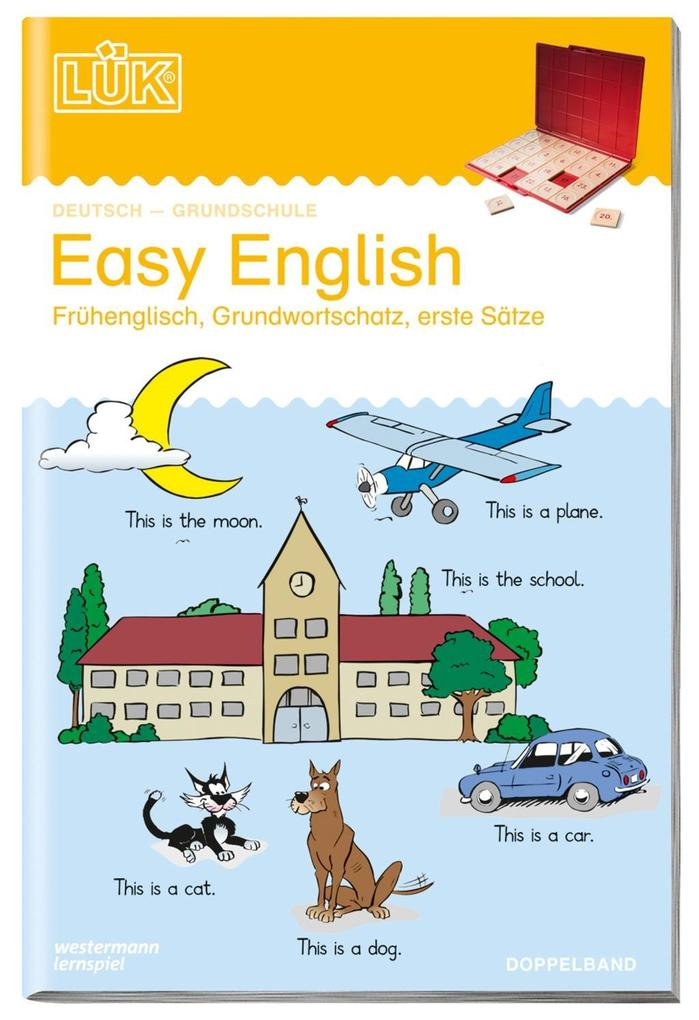 LÜK. Easy English 1/2 (Doppelband) als Buch