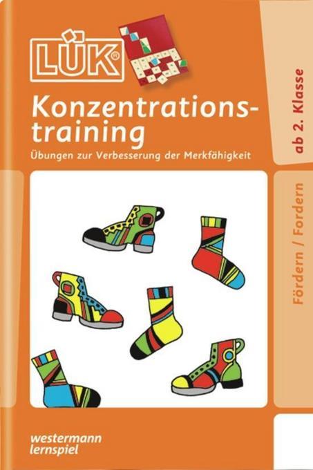 LÜK. Konzentrationstraining 2 als Buch