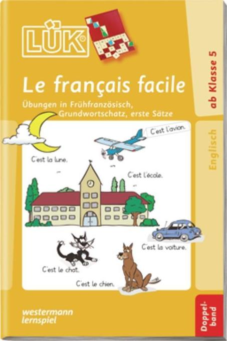 LÜK. Le francais facile. Doppelband als Buch