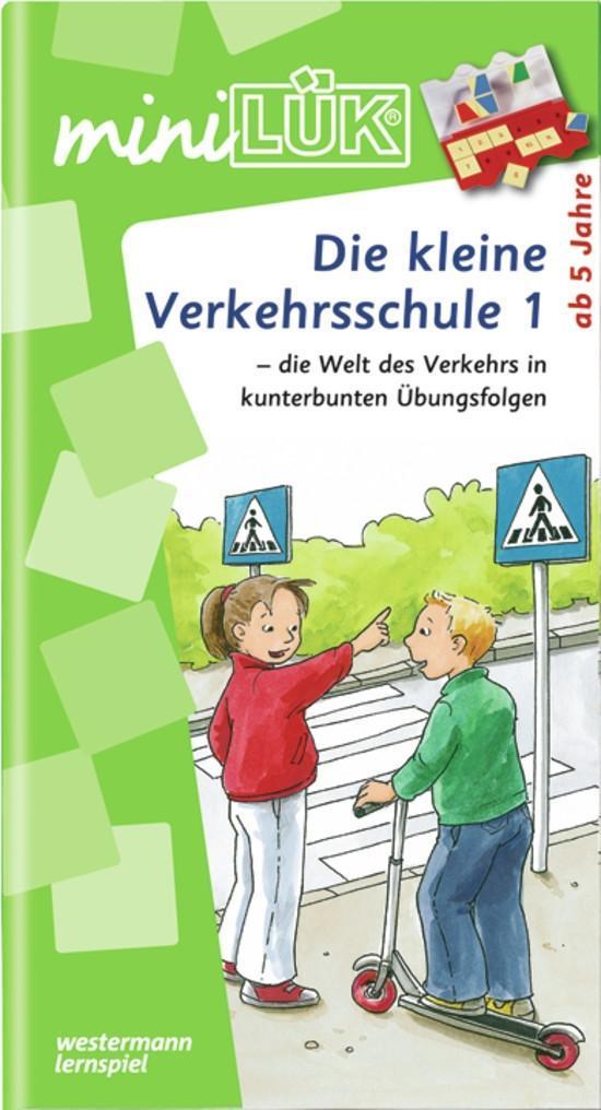 miniLÜK - Die kleine Verkehrsschule 1 als Buch