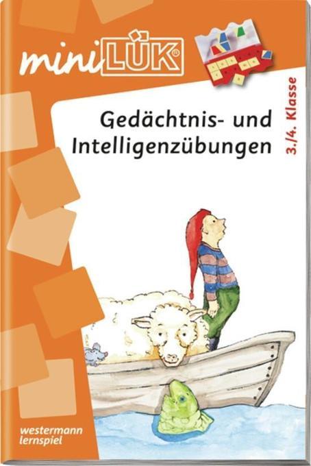 miniLÜK - Gedächtnis- und Intelligenzübungen 3./4.Klasse als Buch