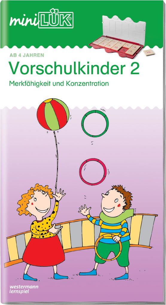 miniLÜK. Vorschulkinder 2 als Buch (gebunden)