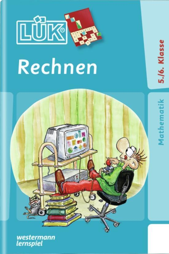 LÜK. Rechnen Klasse 5 / 6 als Buch