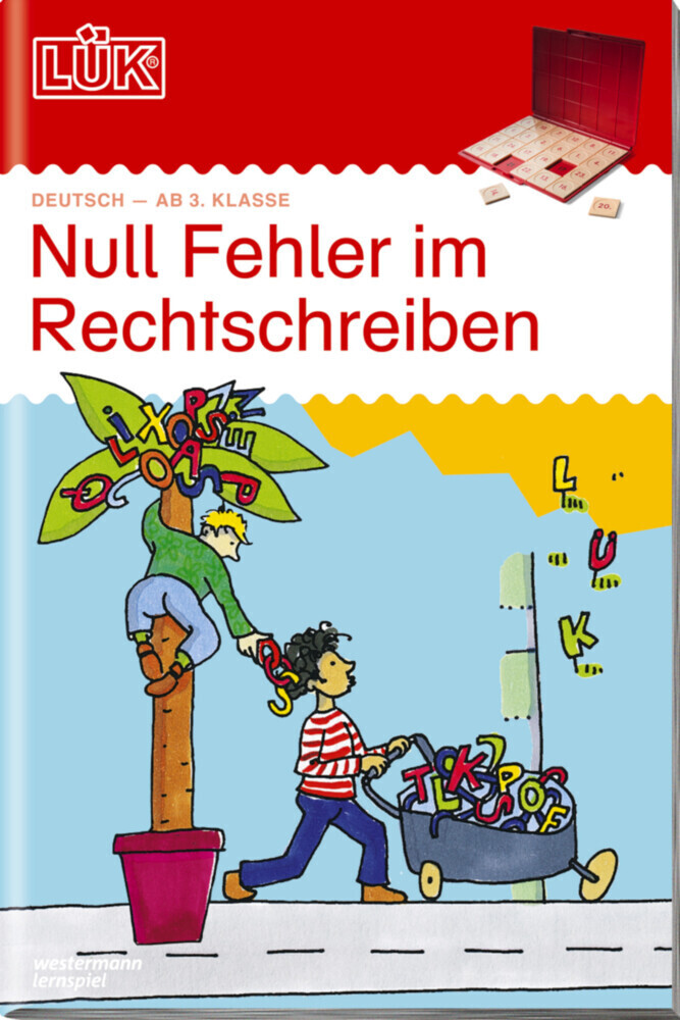 LÜK. Rechtschreibung 1 als Buch