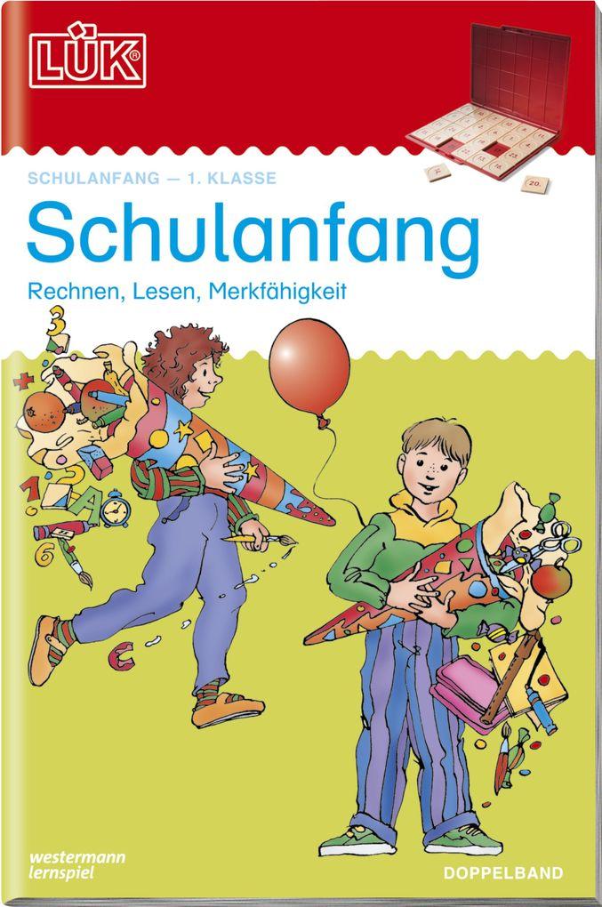 LÜK 2 in 1. Schulanfang als Buch
