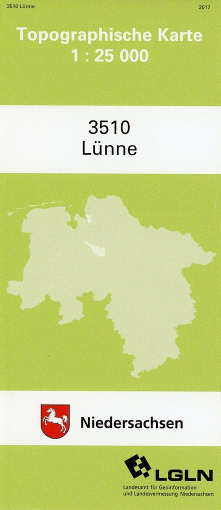 Lünne 1 : 25 000 als Buch