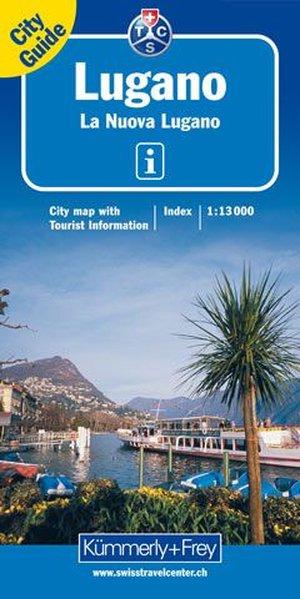 KuF Lugano 1 : 13 000. City map als Buch
