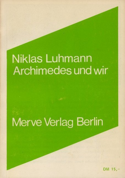 Archimedes und wir als Buch