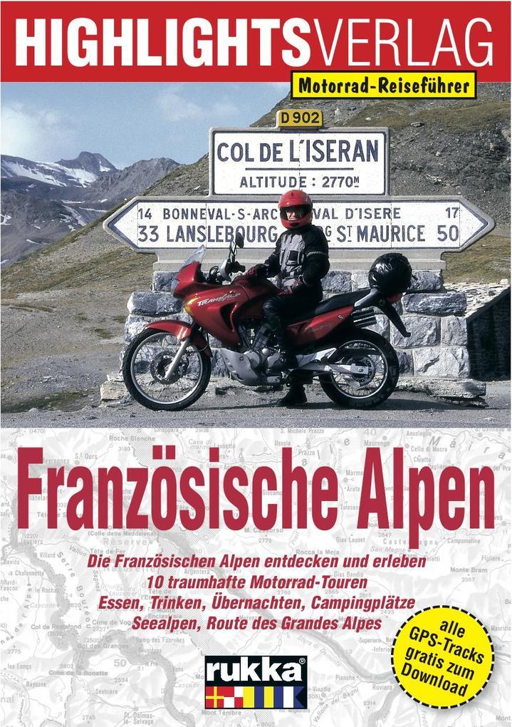 Französische Alpen als Buch