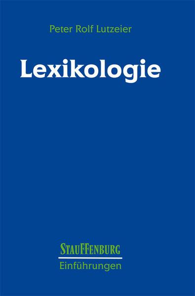 Lexikologie als Buch