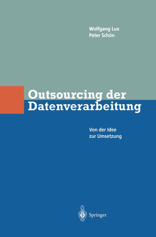 Outsourcing der Datenverarbeitung als Buch