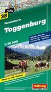 Toggenburg Wanderkarte 1 : 50 000