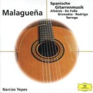 Malaguena-Gitarrenhits als CD