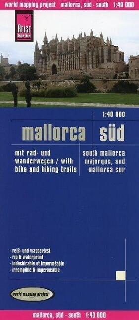 Reise Know-How Rad- und Wanderkarte Mallorca, Süd 1 : 40.000 als Buch