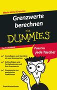 Grenzwerte berechnen für Dummies Das Pocketbuch